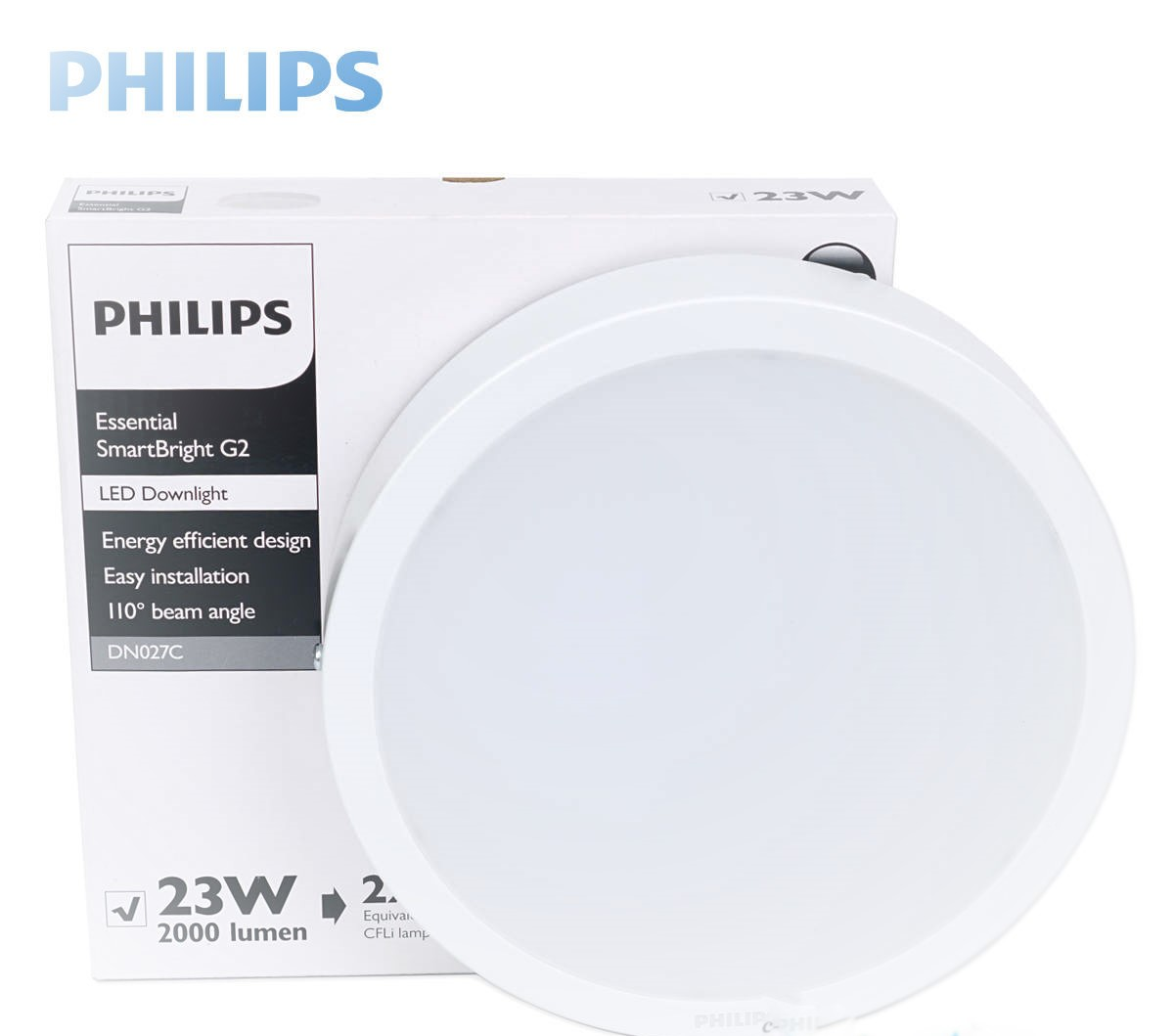 Đèn ốp trần LED PHILIPS DN027C LED20 23W